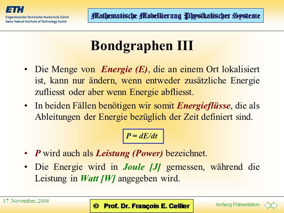 Bondgraphen III