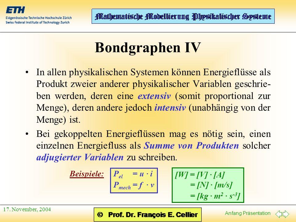 Bondgraphen IV