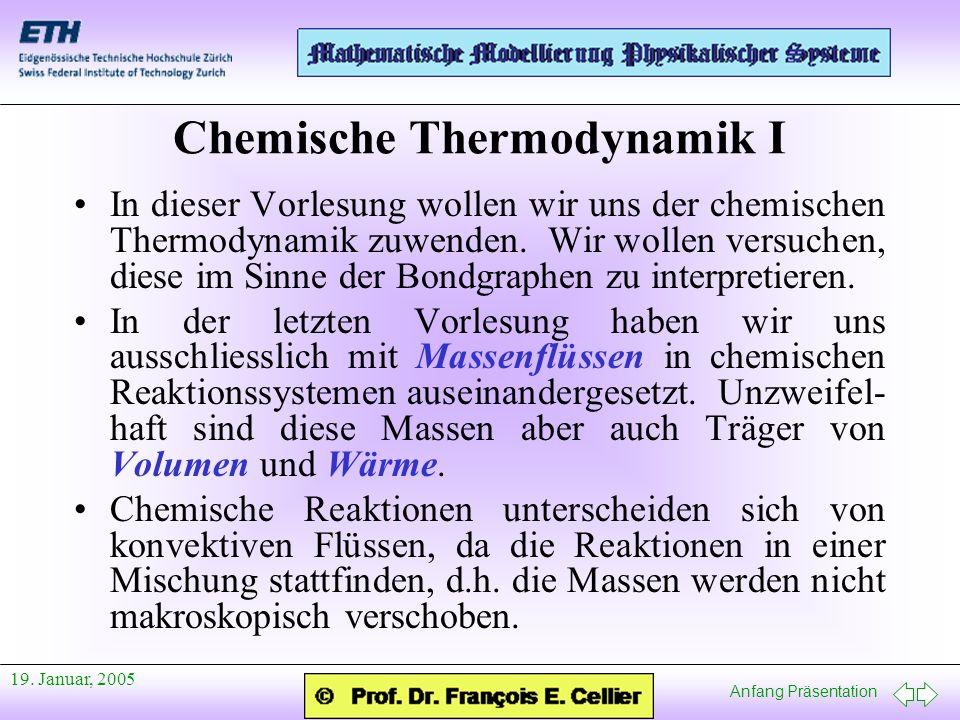 Chemische Thermodynamik I