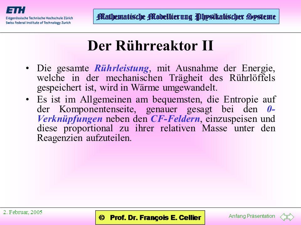 Der Rührreaktor II