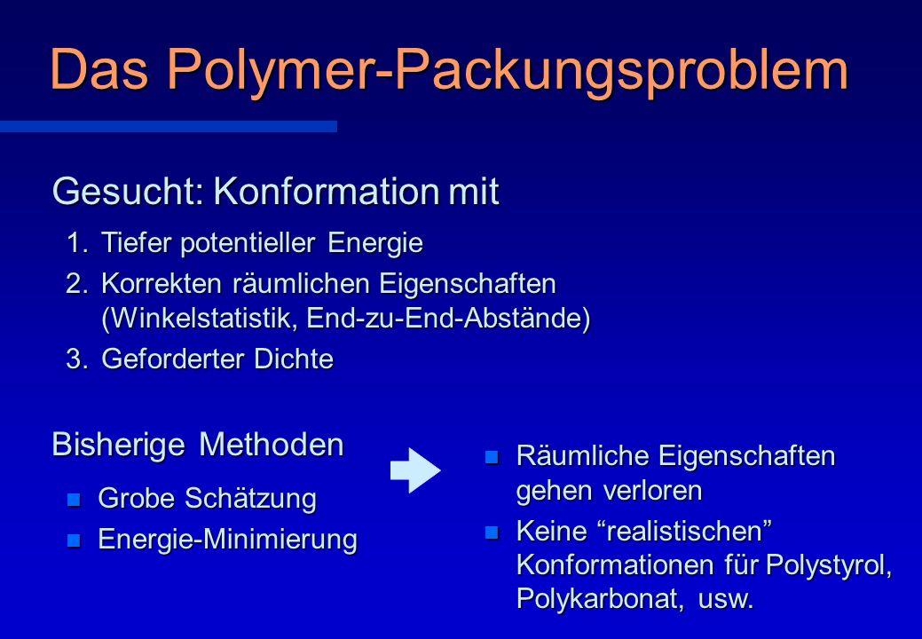 Das Polymer-Packungsproblem