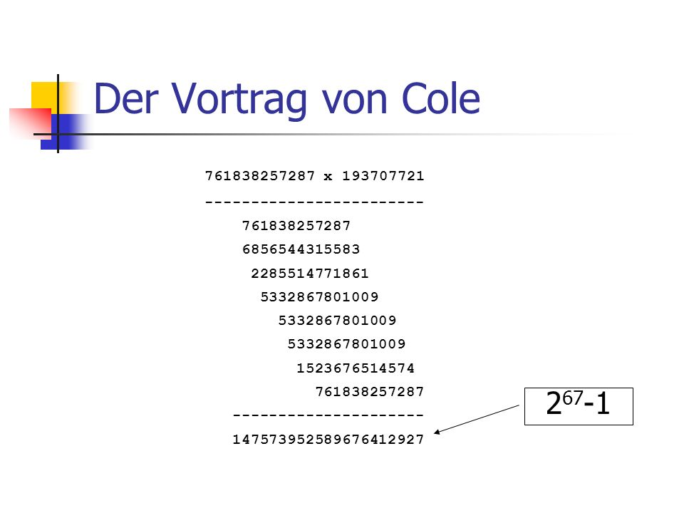Der Vortrag von Cole 761838257287 x 193707721. ------------------------ 761838257287. 6856544315583.