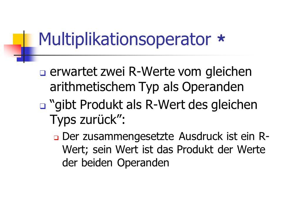 Multiplikationsoperator *