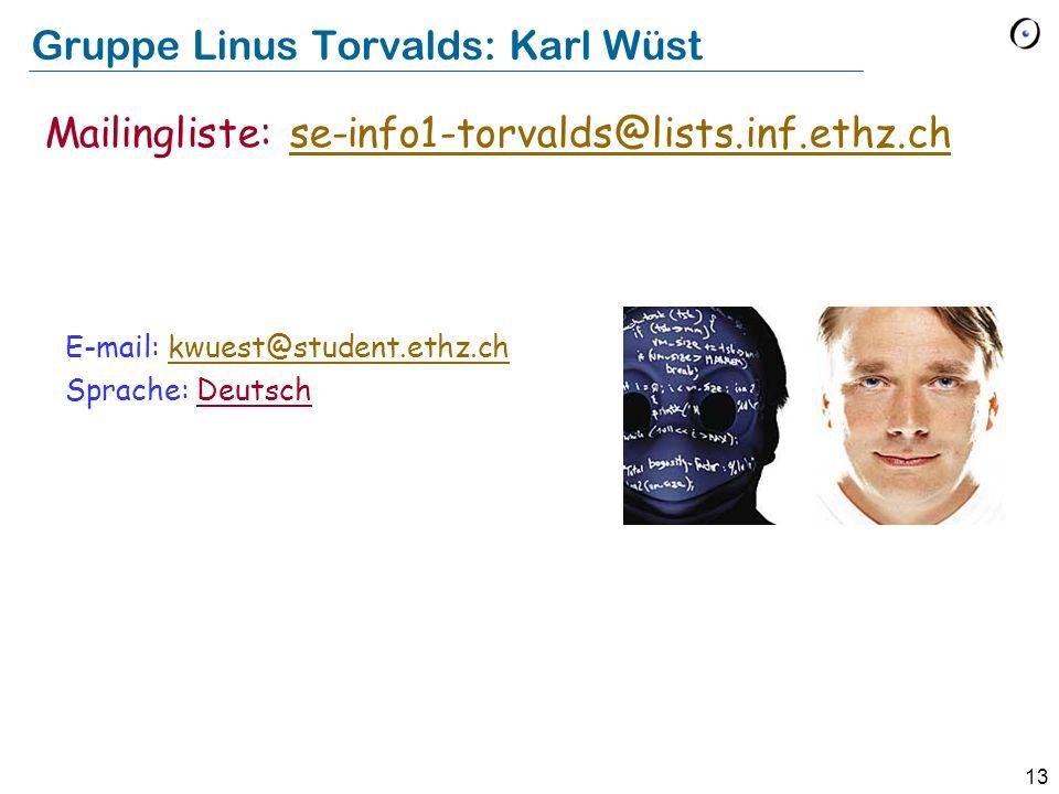 Gruppe Linus Torvalds: Karl Wüst