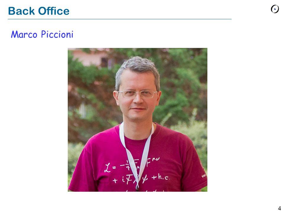 Back Office Marco Piccioni