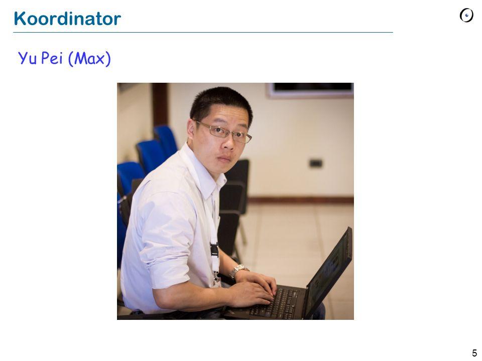 Koordinator Yu Pei (Max)