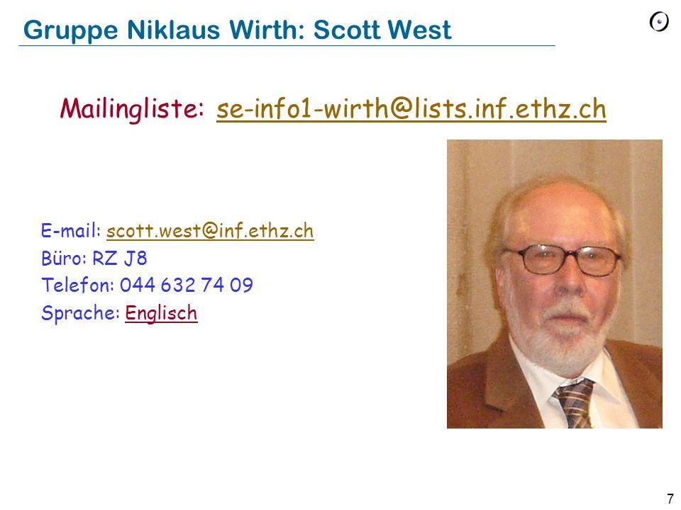 Gruppe Niklaus Wirth: Scott West