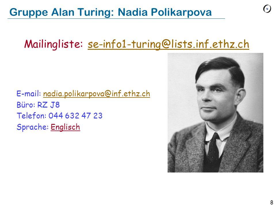 Gruppe Alan Turing: Nadia Polikarpova