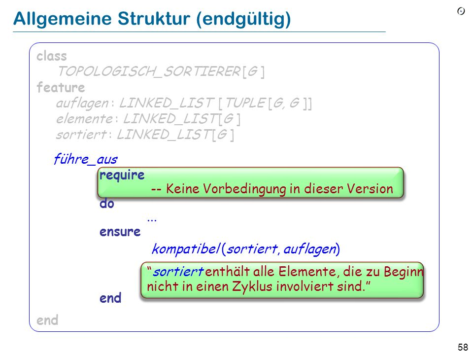 Allgemeine Struktur (endgültig)