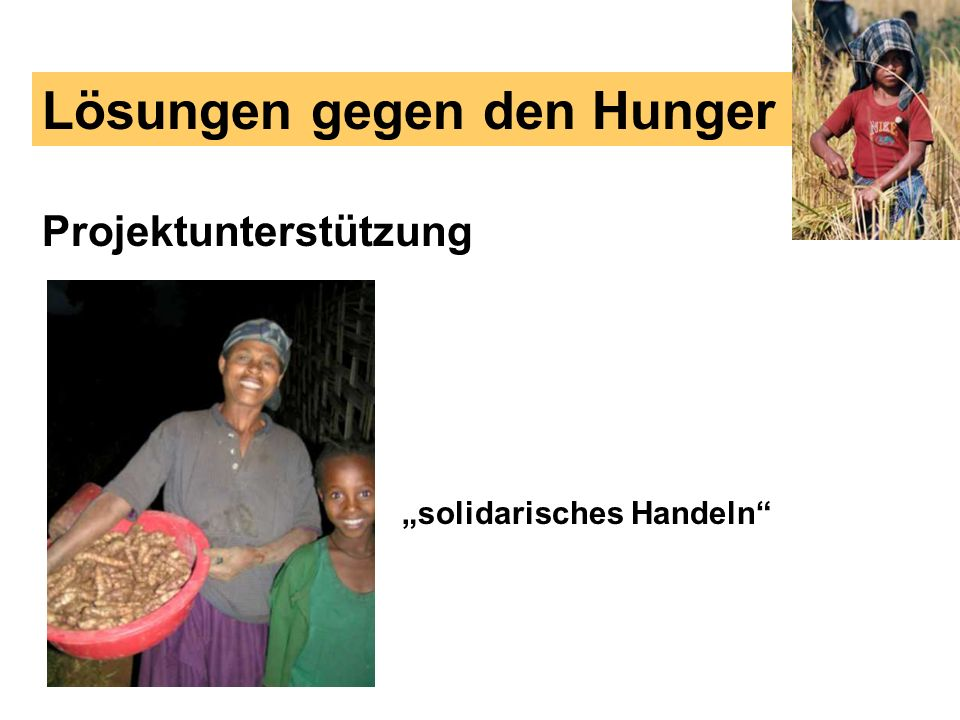 Lösungen gegen den Hunger