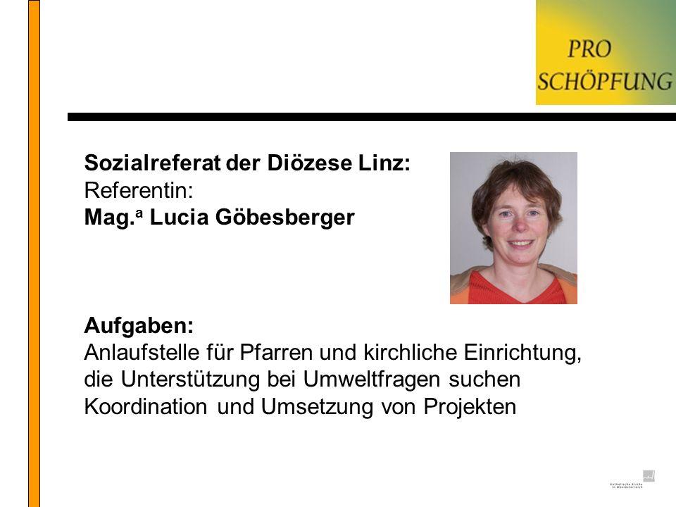 Sozialreferat der Diözese Linz: