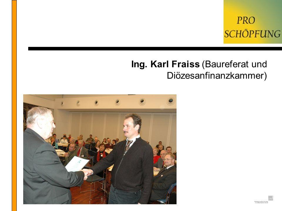 Ing. Karl Fraiss (Baureferat und Diözesanfinanzkammer)
