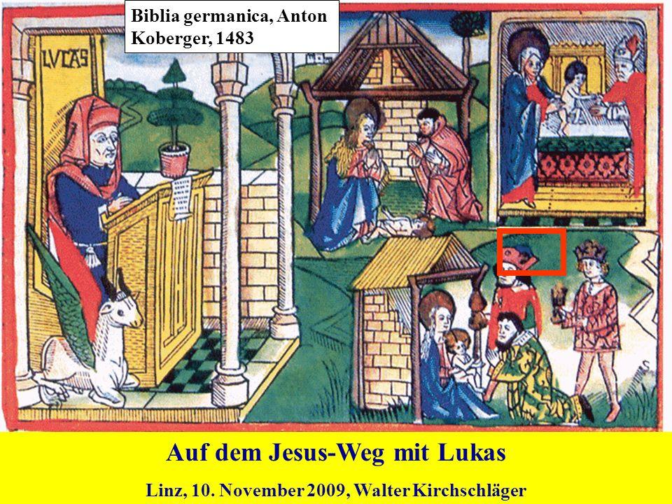 Auf dem Jesus-Weg mit Lukas