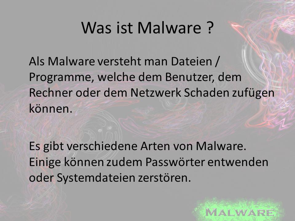 Was ist Malware