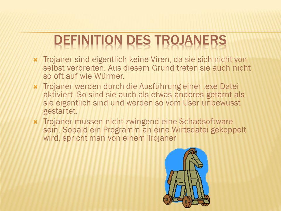 Definition des Trojaners