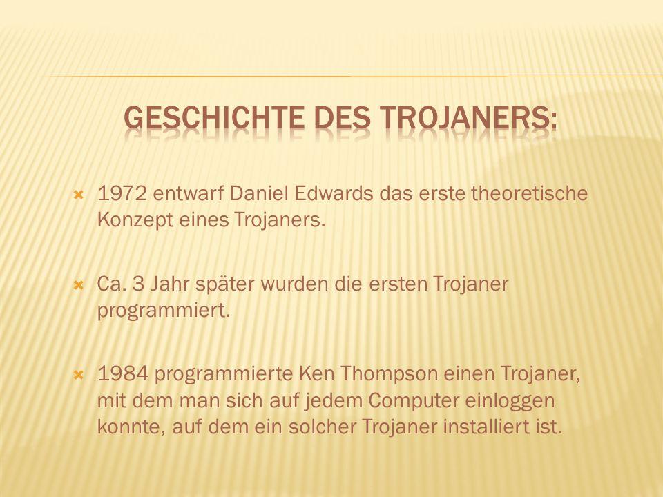 Geschichte des Trojaners: