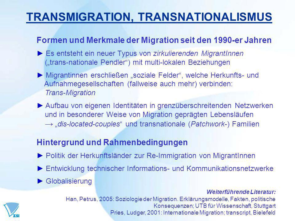 TRANSMIGRATION, TRANSNATIONALISMUS