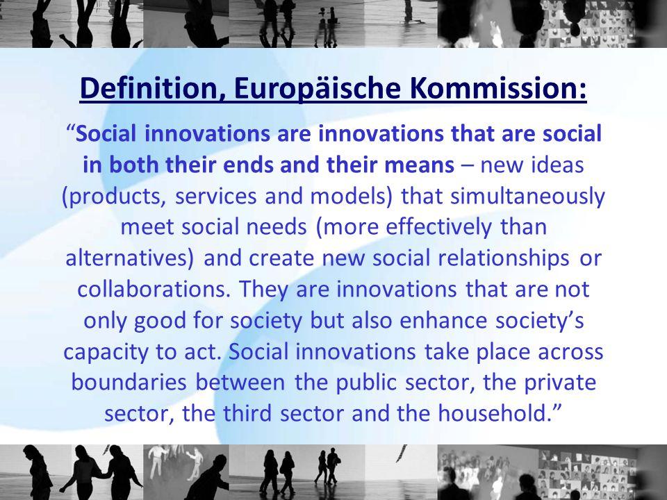 Definition, Europäische Kommission: