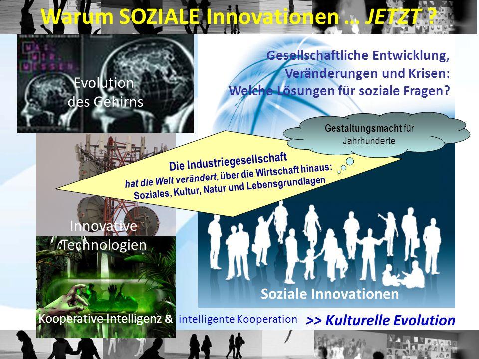 Warum SOZIALE Innovationen … JETZT