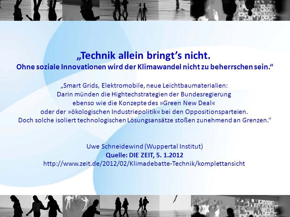 """""""Technik allein bringt's nicht."""