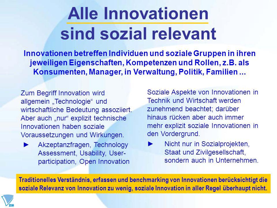 Alle Innovationen sind sozial relevant