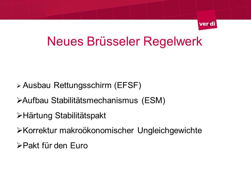Neues Brüsseler Regelwerk