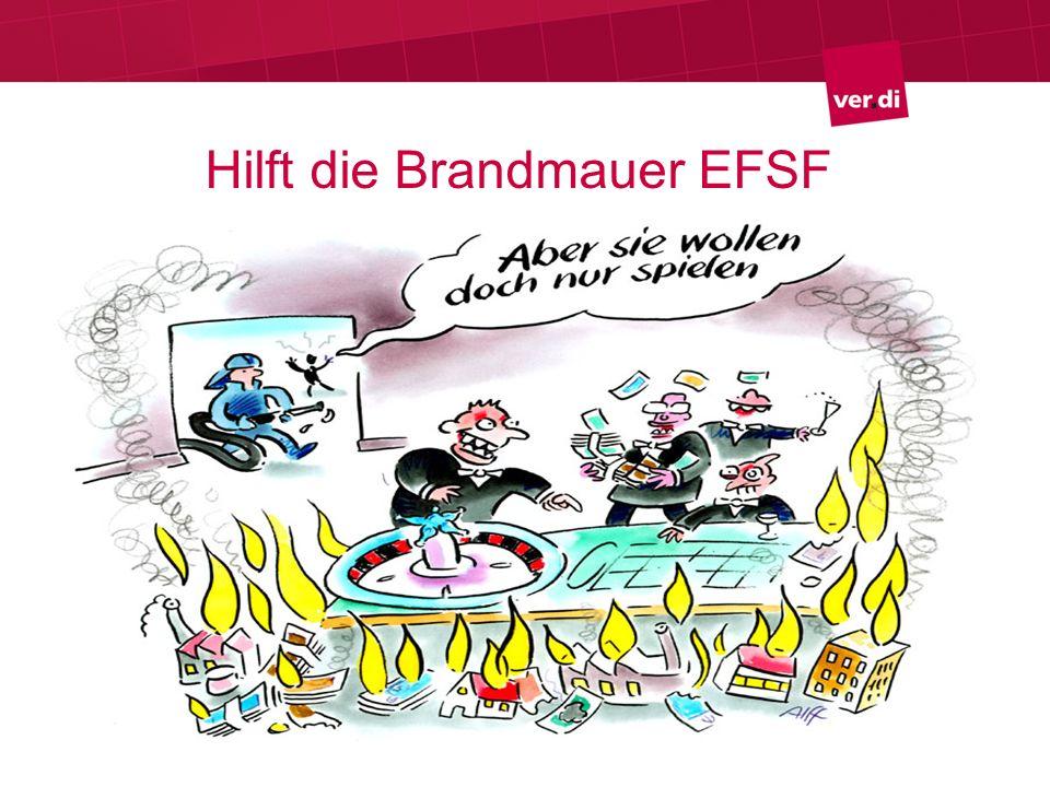 Hilft die Brandmauer EFSF