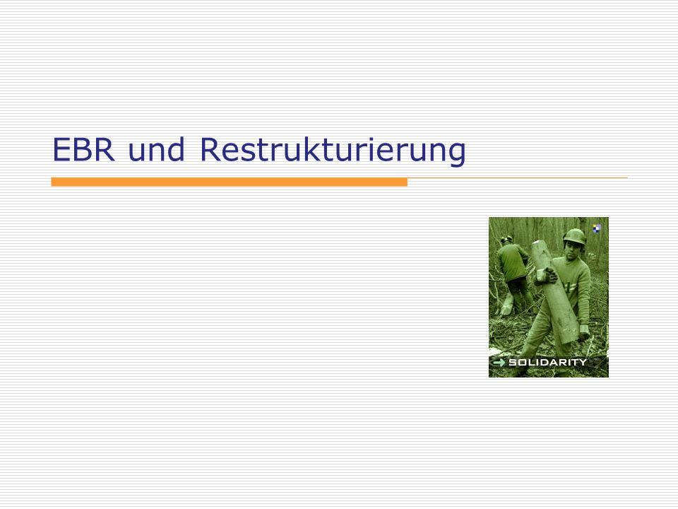 EBR und Restrukturierung