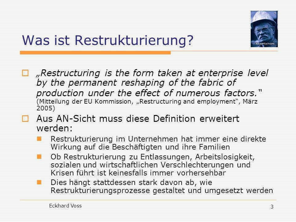 Was ist Restrukturierung