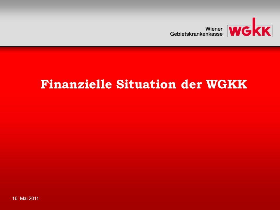 Finanzielle Situation der WGKK