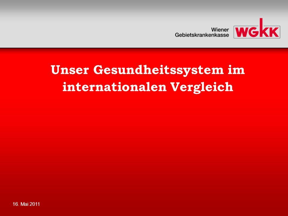 Unser Gesundheitssystem im internationalen Vergleich