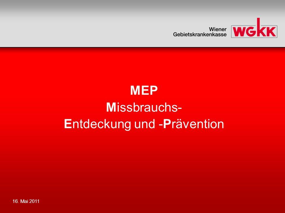 MEP Missbrauchs- Entdeckung und -Prävention