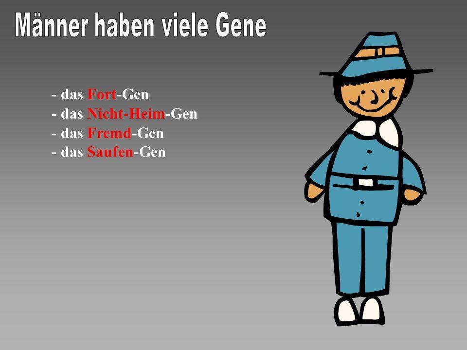 Männer haben viele Gene