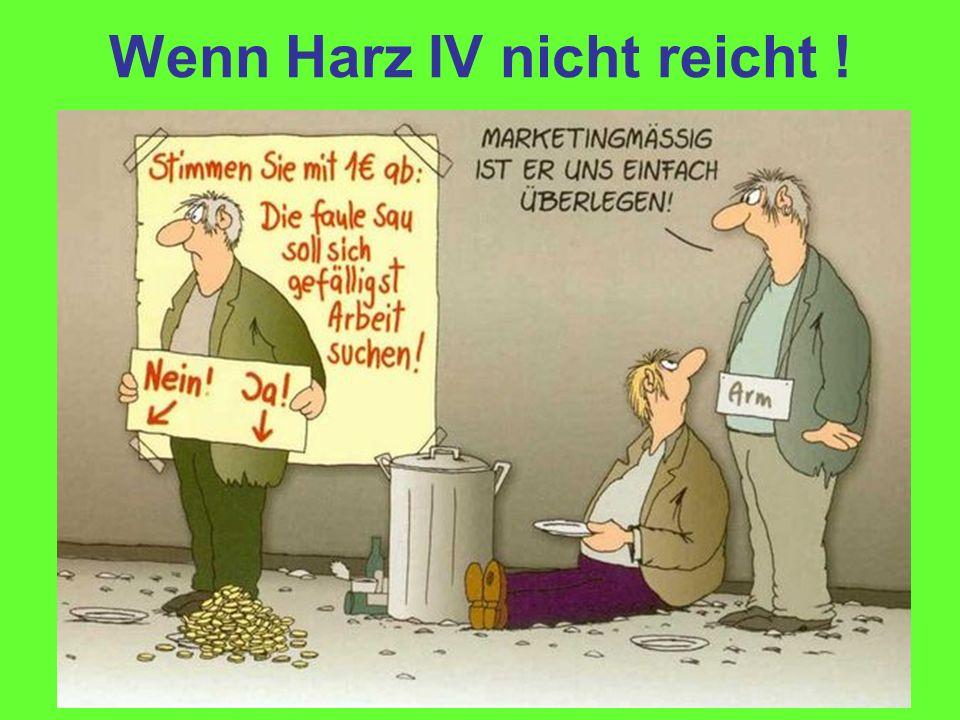 Wenn Harz IV nicht reicht !