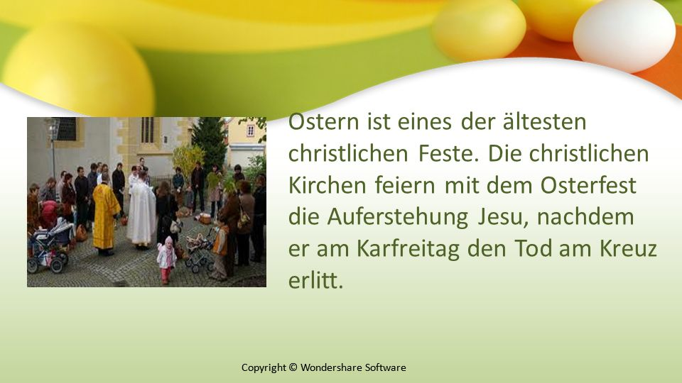 Ostern ist eines der ältesten christlichen Feste