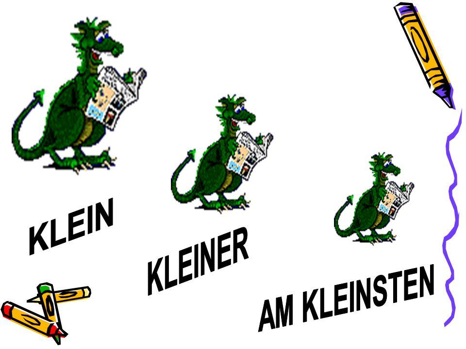 KLEIN KLEINER AM KLEINSTEN