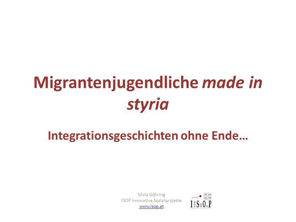 Migrantenjugendliche made in styria