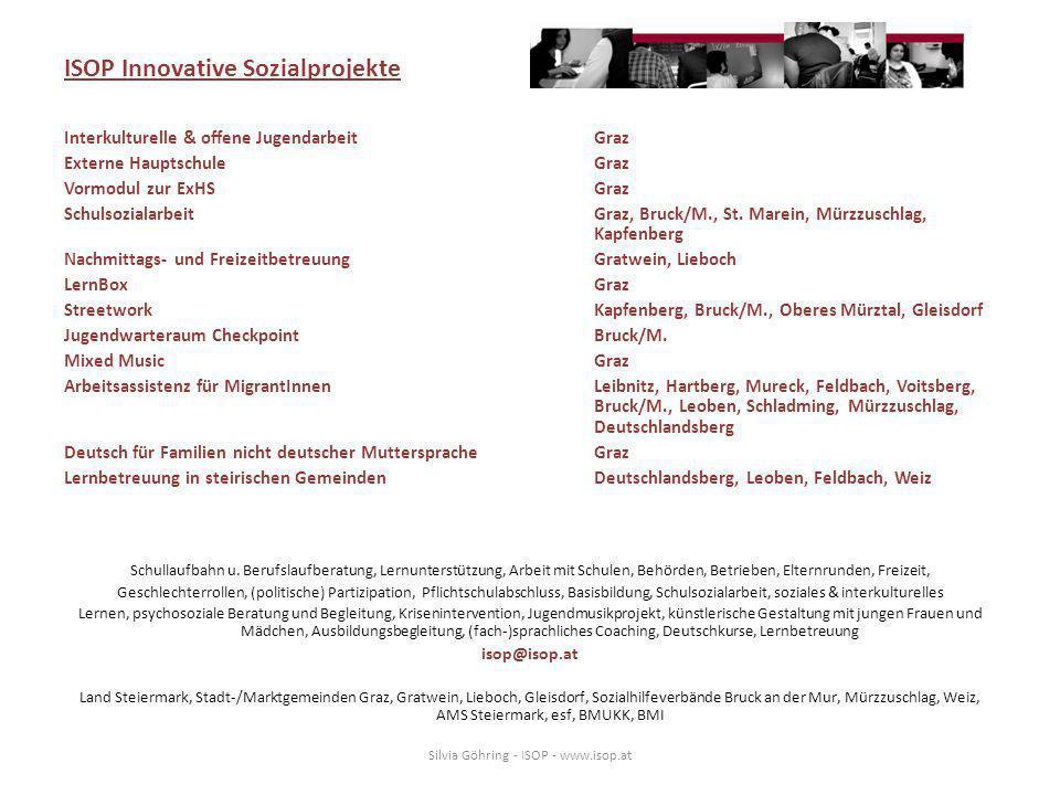 ISOP Innovative Sozialprojekte