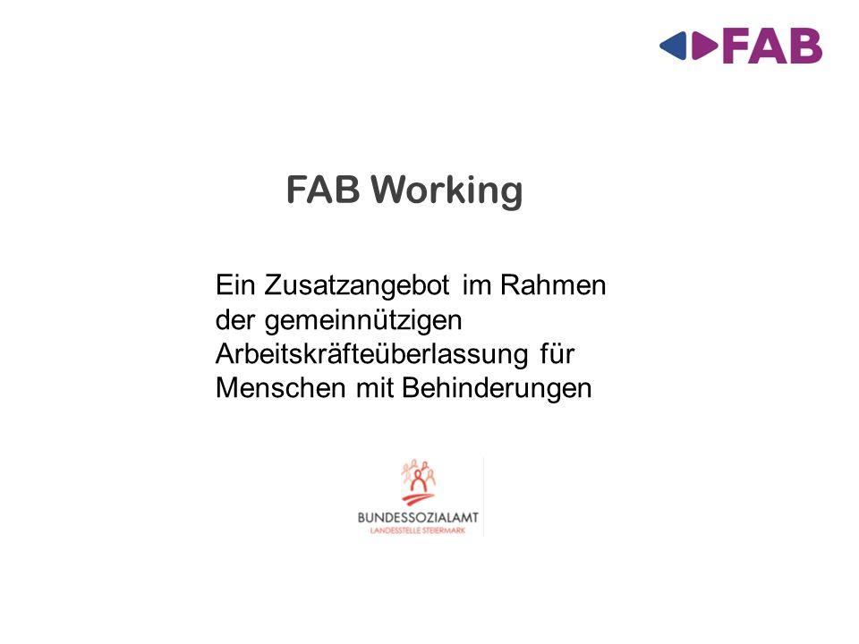 FAB Working Ein Zusatzangebot im Rahmen