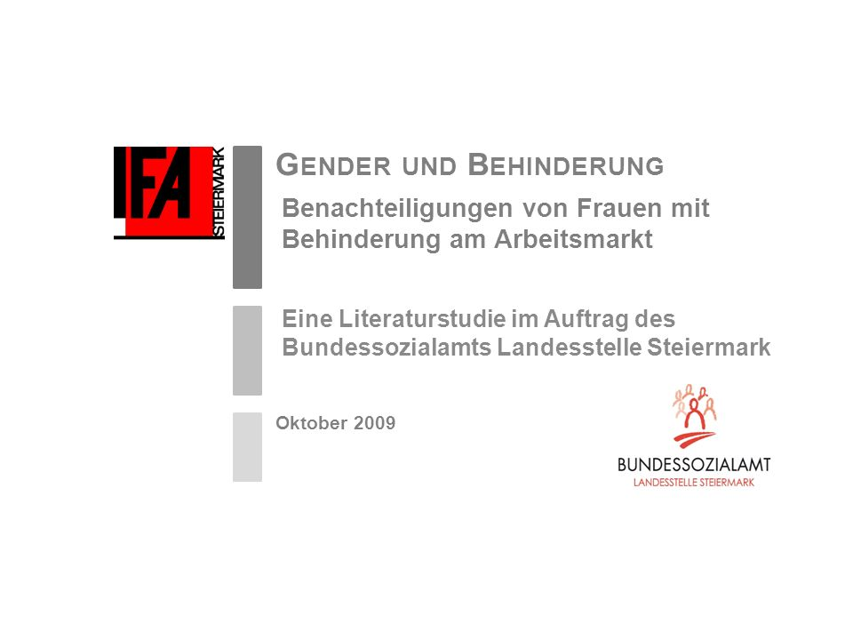 Gender und Behinderung
