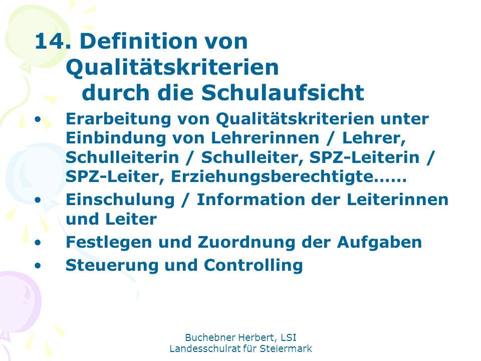 Buchebner Herbert, LSI Landesschulrat für Steiermark