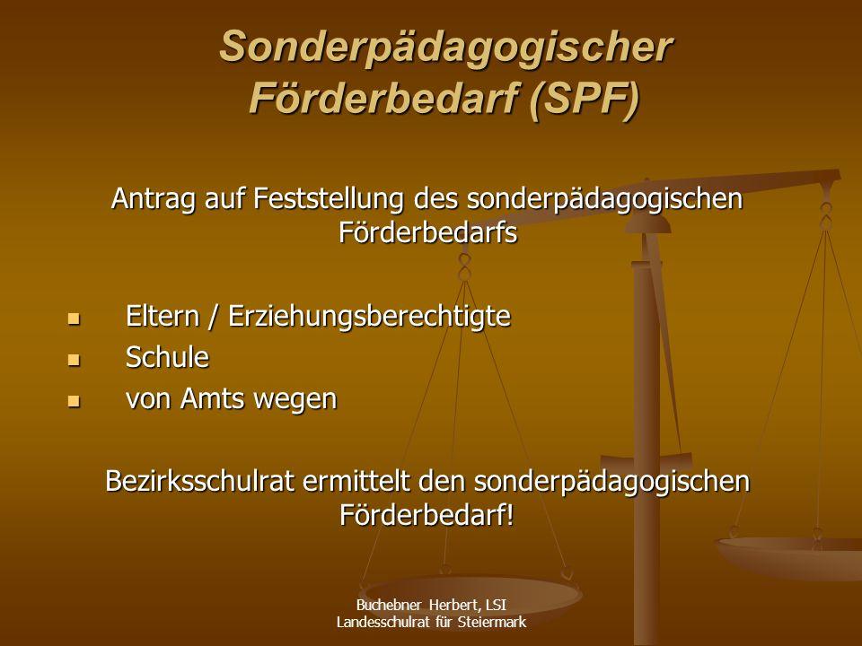 Sonderpädagogischer Förderbedarf (SPF)