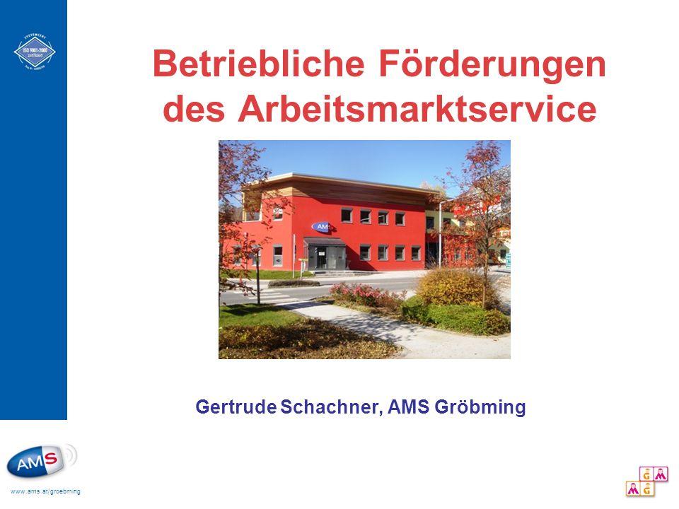 Betriebliche Förderungen des Arbeitsmarktservice