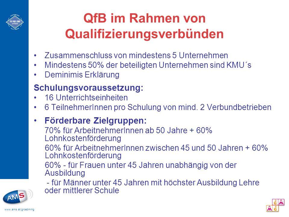 QfB im Rahmen von Qualifizierungsverbünden