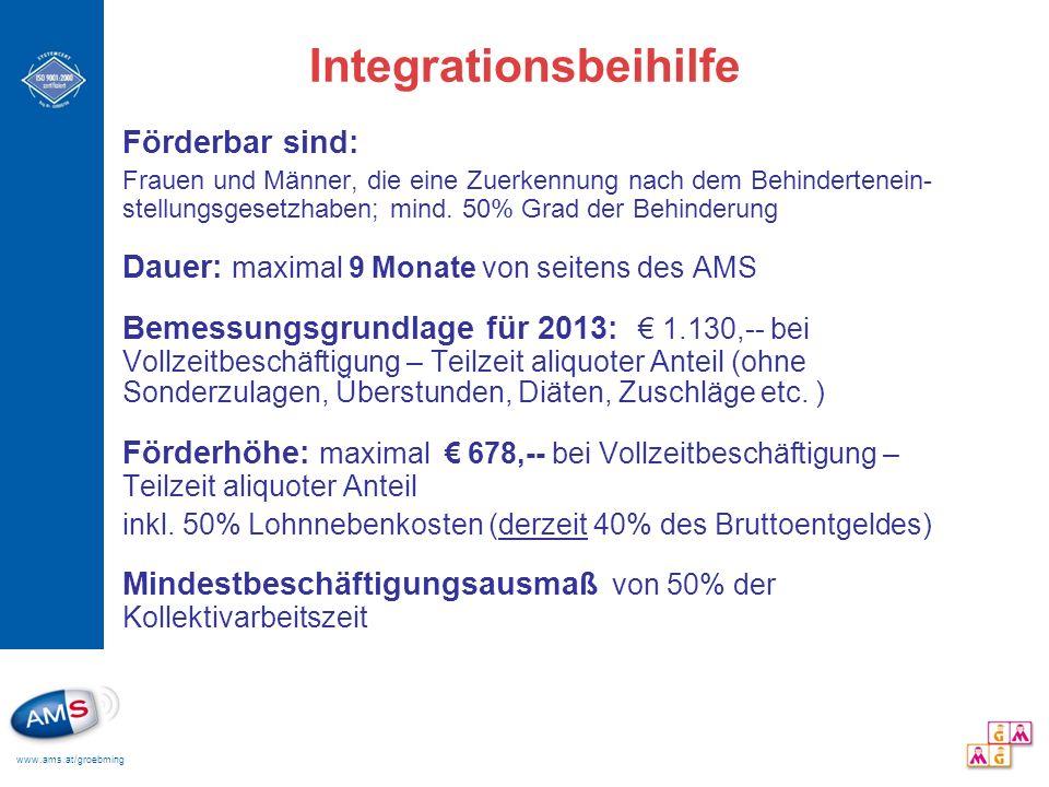Integrationsbeihilfe