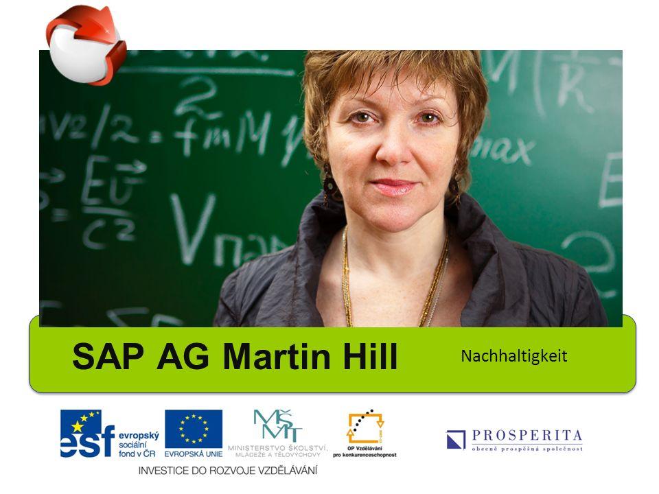 SAP AG Martin Hill Nachhaltigkeit