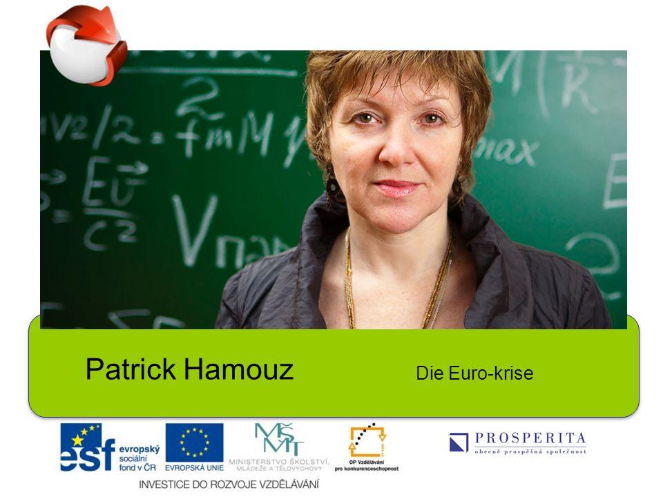 Patrick Hamouz Die Euro-krise