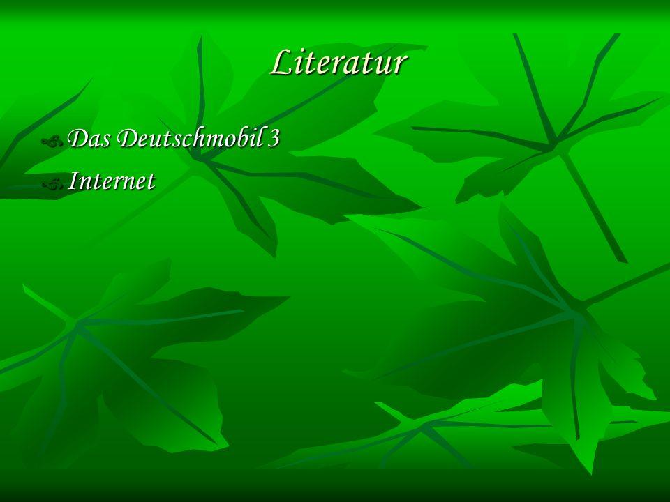 Literatur Das Deutschmobil 3 Internet