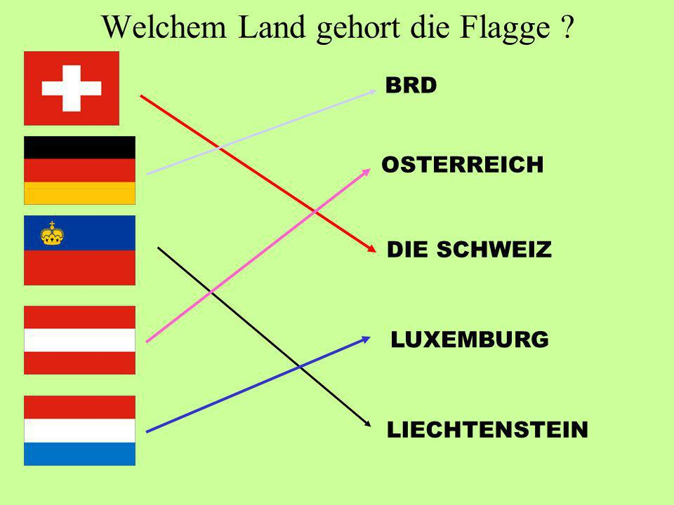 Welchem Land gehort die Flagge
