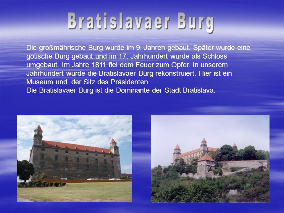 Bratislavaer Burg